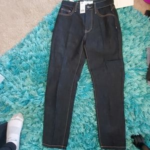 nwt current/Elliott vintage cropped slim Jean's